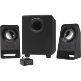 Колонки Logitech Z213 (2.1) 2x1.5Вт + 4Вт, пластик, черные (980-000942)
