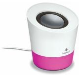 Колонки Logitech Z-50 10Вт белый/розовый (980-000805)
