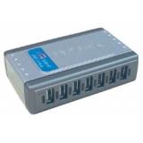 Концентратор D-Link DUB-H7 7 портов USB 2.0 с блоком питания