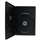 Контейнер 2 DVD slim черный