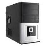 Корпус mATX InWin EMR016 450W AirDuct MiniTower Black-Silver