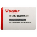 Лицензия McAfee Internet Security 2014 - eCard- 1 User 1 year (QFMIS149EC1RAO)