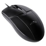 Мышь Oklick 145M черный оптическая (1000dpi) USB