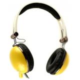 Наушники Cosonic CD668MV (дуговые, открытого типа) желтые