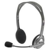 Наушники Logitech Headset H110  (откр. типа, шумоподавл. микр.) (981-000271)