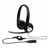 Наушники Logitech Headset H390 (дуговые закрытого типа с микрофоном и регулятором) (981-000406)