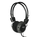 Наушники с микрофоном Sven AP-520 накладные открытые, регулятор громкости, черные (SV-0410520)