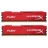 Память DIMM DDR3 PC-12800 8Gb Kingston HyperX Fury Red (HX316C10FR/8)