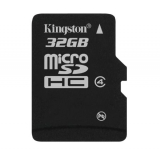 Память SD Card 32Gb Kingston micro SDHC Class 4 без адаптера (SDC4/32GBSP)