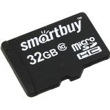Карта памяти microSD 32Gb Smartbuy Class 10 UHS-I без адаптера (SB32GBSDCL10-00)