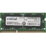 Память SoDIMM DDR3L PC-12800 4Gb Crucial (CT51264BF160B(J))