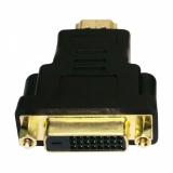 Переходник HDMI/DVI (19M/25F) позолоченные контакты (Gembird A-HDMI-DVI-3)