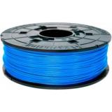Пластик ABS на катушке в картридже, cyan (голубой), 1,75 мм/600гр