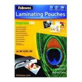 Пленка для ламинирования Fellowes 100мкм A4 100 шт. глянцевая (FS-53511)