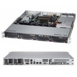 Сервер Трилайн 1U/1*i3-4130/1*4Gb/2*500Gb 7.2K HotSwap/2*GLan/IPMI/2*400W/no OS