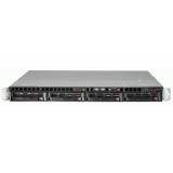 """Платформа серверная SuperMicro SYS-5018D-MTLN4F 1U/C224/1xS-1150 (E3-1200 v3/v4)/4xDDR3 (UDIMM)/4x3.5""""HS/2xSATA2/4xSATA3/SW-RAID 0,1,5,10/4xGLAN/KVMoIP/PSU 350W"""