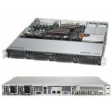 "Серверная платформа SuperMicro SYS-6018R-MTR 2CPU (only E5-26xxV3 series) max (S-2011)/1U/8*DDR4 (up to 512Gb)/4x3.5"" Hot-swap SATA HDDs/2(2) 400W redudant PS"