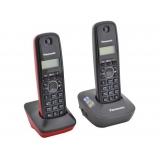 Телефон Panasonic KX-TG1612RU3 радио Dect 2 трубки