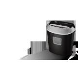Уничтожитель документов Office Kit S50 (секр.3/P-4)/фр4х35мм/10листов/21лтр/Уничт:скрепки, скобы, пл.карты/CD (Б/У)