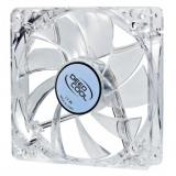 Вентилятор для корпуса 120x120x25 DEEPCOOL Xfan 120 L/W (прозрачный пластик) RTL