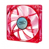 Вентилятор для корпуса 120x120x25 DEEPCOOL Xfan 120L Red Led RTL (XFAN120L/R)