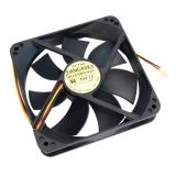 Вентилятор для корпуса 120x120x25 Gembird 3pin (FANCASE3/BALL)