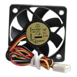 Вентилятор для корпуса 50x50x10 Gembird 3pin (D50BM-12AS)