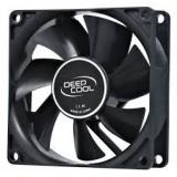 Вентилятор для корпуса 80x80x25 DEEPCOOL Xfan 80 V2 3pin+4pin (RTL)