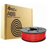 Пластик ABS (сменная катушка для картриджа), Red (красный), 1,75 мм/600гр