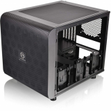 Корпус Thermaltake Core V21 черный w/o PSU mATX 11x120mm 7x140mm 1x200mm 2xUSB3.0 audio bott PSU(CA-1D5-00S-1WN)