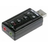 Звуковая карта USB TRUA71 C-Media CM108 2.0 channel volume control (7.1 virtual channel)