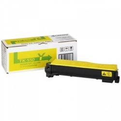 тонер kyocera fs-c5200dn yellow (tk-550y) (о) 6000стр
